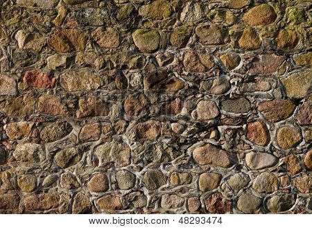 Different colors gravel background, wall, rock pieces texture, natural background, stones texture