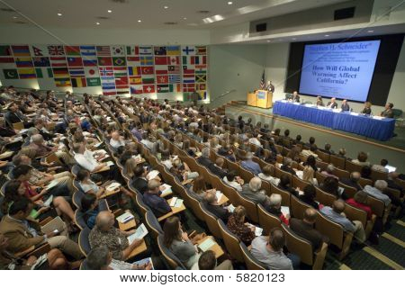Henry Waxman Climate Change Forum Talk