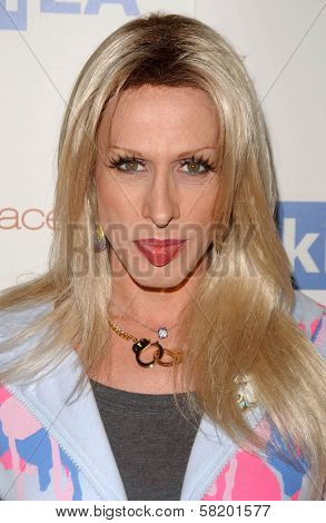 Alexis Arquette at the OmniPeace Benefit To Stop Extreme Poverty in Sub-Saharan Africa. Kitson Men, Los Angeles, CA. 06-21-07