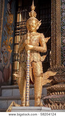 Guardian In Wat Phra Kaeo - Bangkok