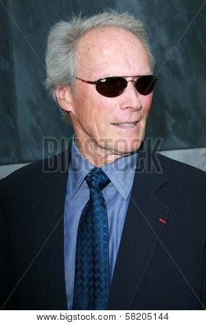 Clint Eastwood at the Los Angeles Film Festival 2007 Spirit Of Independence Awards. Billy Wilder Theatre, Westwood, CA. 06-28-07