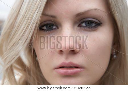 Retrato da menina bonita
