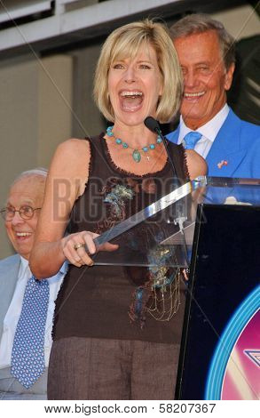 Debby Boone and Pat Boone at the Ceremony honoring Mike Curb with a star on the Hollywood Walk of Fame. Vine St, Hollywood, CA. 06-29-07