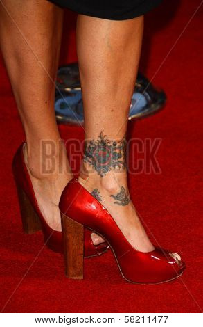Taylor Dayne's Tattoo at the World Premiere of