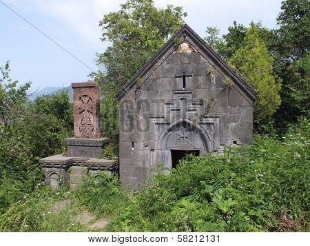The St Hartuin Chapel At Sanahin Monastery