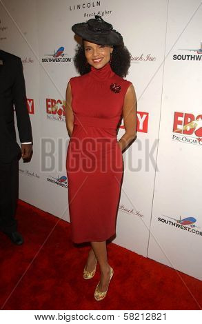Victoria Rowell at Ebony's Pre-Oscar Celebration