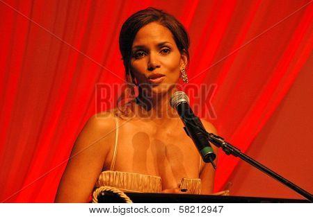 Halle Berry at Ebony's Pre-Oscar Celebration