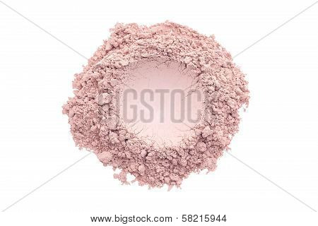 Pink Make Up Powder