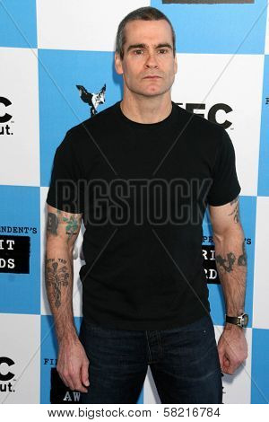 Henry Rollins at the 2007 Film Independent's Spirit Awards. Santa Monica Pier, Santa Monica, CA. 02-24-07