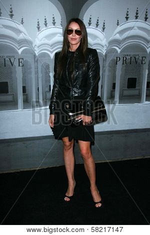 Tamara Mellon at the Giorgio Armani Prive Show to celebrate the Oscars. Green Acres, Los Angeles, CA. 02-24-07