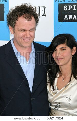 John C. Reilly and Alison Dickey at the 2007 Film Independent's Spirit Awards. Santa Monica Pier, Santa Monica, CA. 02-24-07