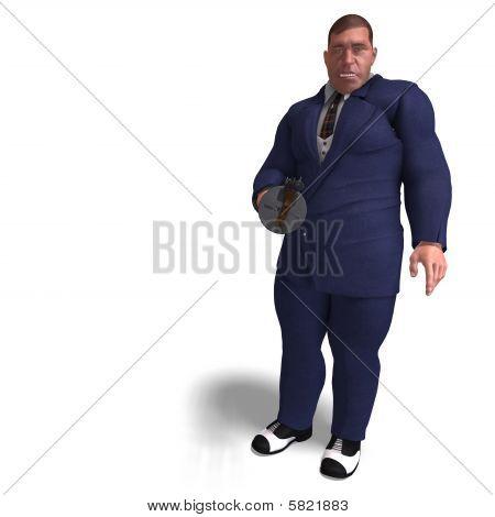 schlechte Mafia Gun man