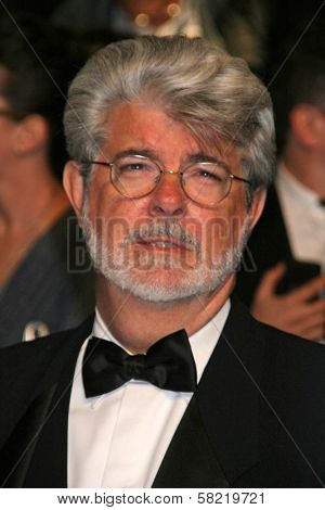 George Lucas at the 2007 Vanity Fair Oscar Party. Mortons, West Hollywood, CA. 02-25-07