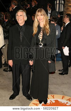 Martin Landau and guest at the 2007 Vanity Fair Oscar Party. Mortons, West Hollywood, CA. 02-25-07