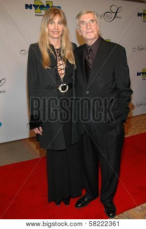 Martin Landau and friend at the 17th Annual Night of 100 Stars Gala. Beverly Hills Hotel, Beverly Hills, CA. 02-25-06