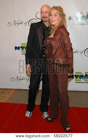 Bob Kulick and Stella Stevens at the 17th Annual Night of 100 Stars Gala. Beverly Hills Hotel, Beverly Hills, CA. 02-25-06