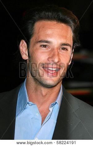 Rodrigo Santoro at the Los Angeles premiere of