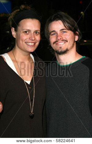Marianna Palka and Jason Ritter at the Los Angeles premiere of