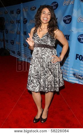 Jordin Sparks at the American Idol Top 12 Finalists Party. Astra West, West Hollywood, CA. 03-08-07