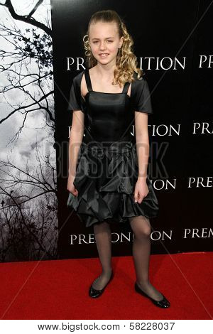 Courtney Taylor Burness at the World Premiere of