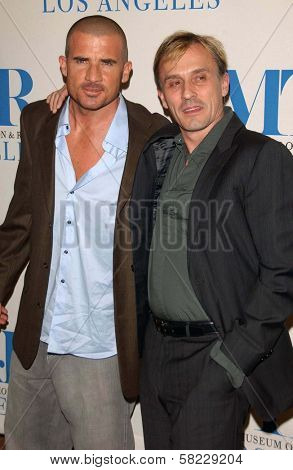 Dominic Purcell and Robert Knepper at The 24th Annual William S. Paley Television Festival - An Evening with