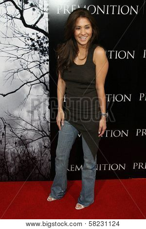 Yvette Lopez at the World Premiere of