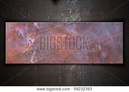 Copper Metal Plate