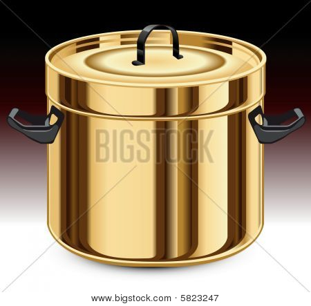 Gold pan