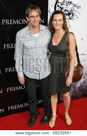 Scott Bakula and Chelsea Field at the World Premiere of