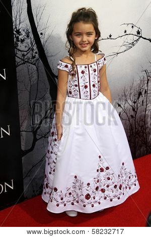 Shyann McClure at the World Premiere of