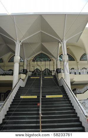 As Syakirin Mosque Side Entrance