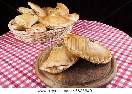 Two Filled Pastry