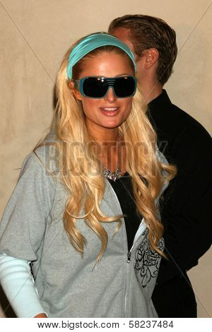 Paris Hilton at the 2B Free Fall 2007 Collection Fashion Show. Boulevard 3, Hollywood, CA. 03-19-07