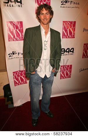 Wes Ramsey at the 2B Free Fall 2007 Collection Fashion Show. Boulevard 3, Hollywood, CA. 03-19-07