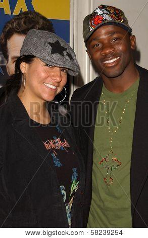 Sophia Luke and Derek Luke at the Los Angeles Screening of