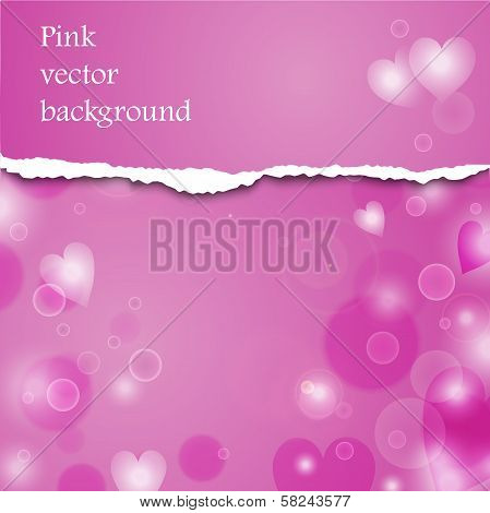 Pink Vector Background