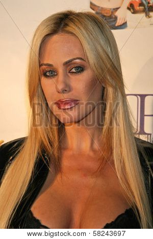 Shauna Sands at the DVD Release Party for