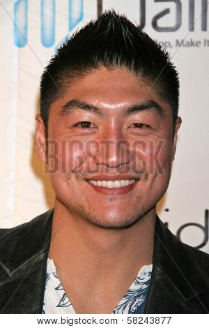 Brian Tee at the DVD Release Party for
