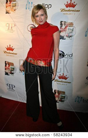 London Bisset at the DVD Release Party for