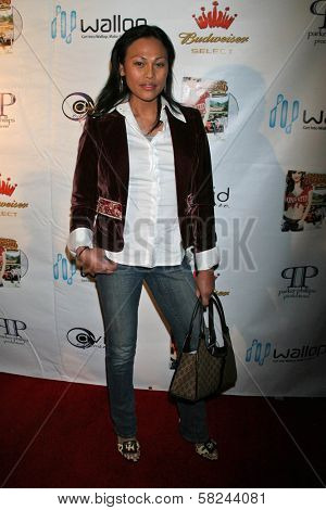 Cassandra Hepburn at the DVD Release Party for