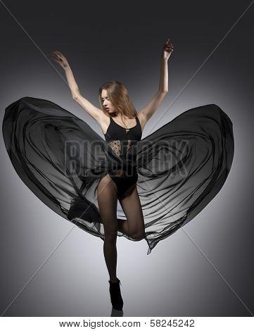 Dynamic Sexy Fashion Girl