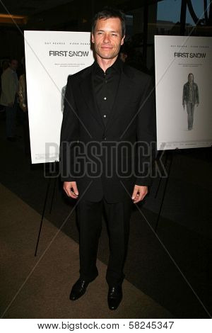 Guy Pearce at the Los Angeles premiere of