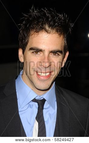 Eli Roth at the Los Angeles premiere of