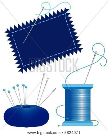 Denim Needle And Thread