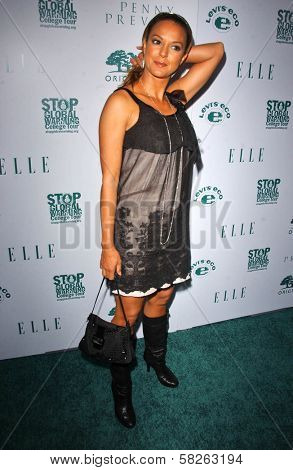 Eva LaRue at the Elle Magazine