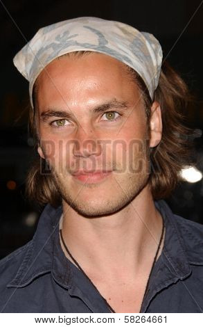 Taylor Kitsch at the Los Angeles premiere of