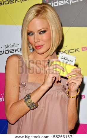 Jenna Jameson at the launch of T-Mobile Sidekick ID, T-Mobile Sidekick Lot, Hollywood, CA. 04-13-07