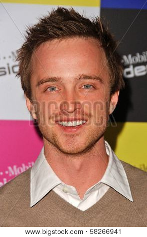 Aaron Paul at the launch of T-Mobile Sidekick ID, T-Mobile Sidekick Lot, Hollywood, CA. 04-13-07