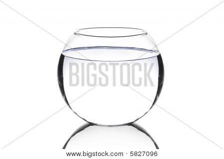 Um aquário vazio