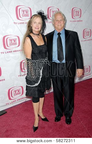 Tony Dow and guest at the 5th Annual TV Land Awards. Barker Hangar, Santa Monica, CA. 04-14-07